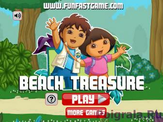 Игра Сокровище на пляже