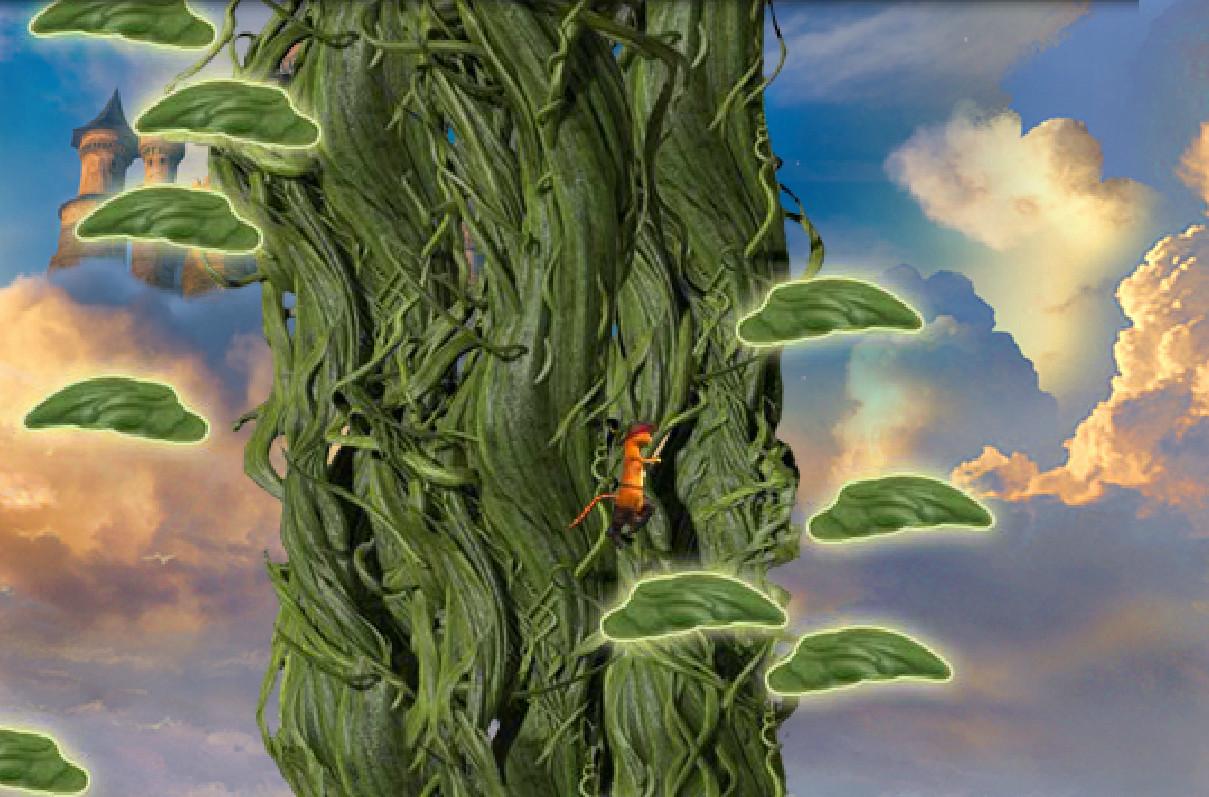 Картинка к игре Кот в сапогах, прыжки