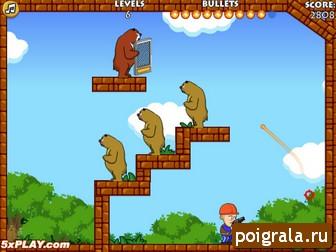 Картинка к игре Стрельба по медведям