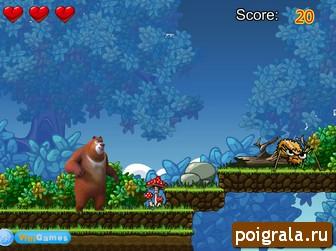 Картинка к игре Приключения медведя