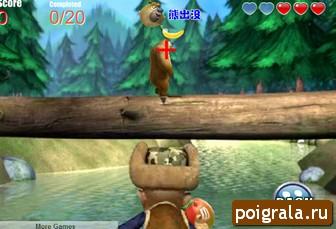 Картинка к игре Медведи соседи и охотник