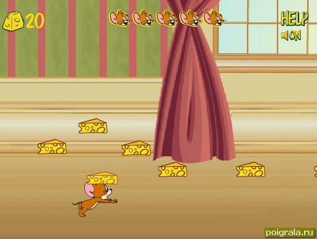 Картинка к игре Беги Джерри Беги