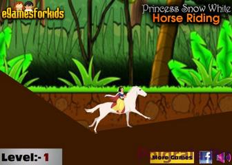 Белоснежка и лошадь картинка 1