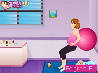Картинка к игре Рождение малышки