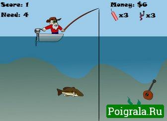 Игра Ловим большую рыбу
