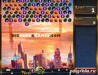 Картинка к игре Город героев шарики