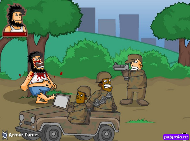 Игра Бомж Хобо 4, Тотальная война
