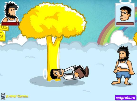 Картинка к игре Бомж Хобо 7, Рай