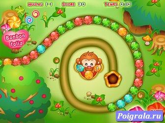 Картинка к игре Зума с обезьянкой
