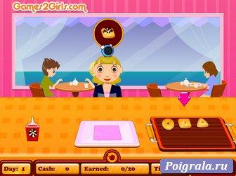 Картинка к игре Кафе с пончиками