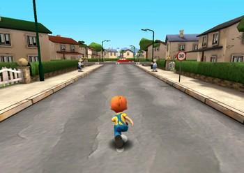Бегающий мальчик картинка 1