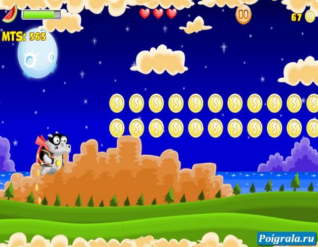 Картинка к игре Летающая корова