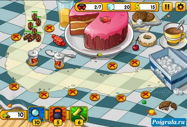 Картинка к игре Атака жуков