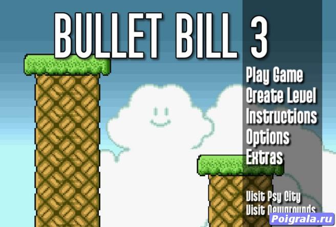Игра Летающая пуля 3