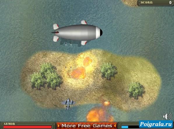 Картинка к игре Леталка на самолете