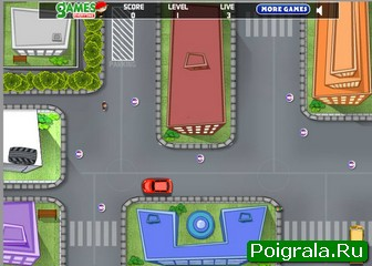 Картинка к игре Парковка школьного автобуса