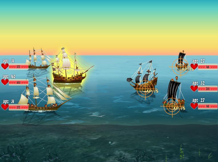 Картинка к игре Адмирал карибского моря