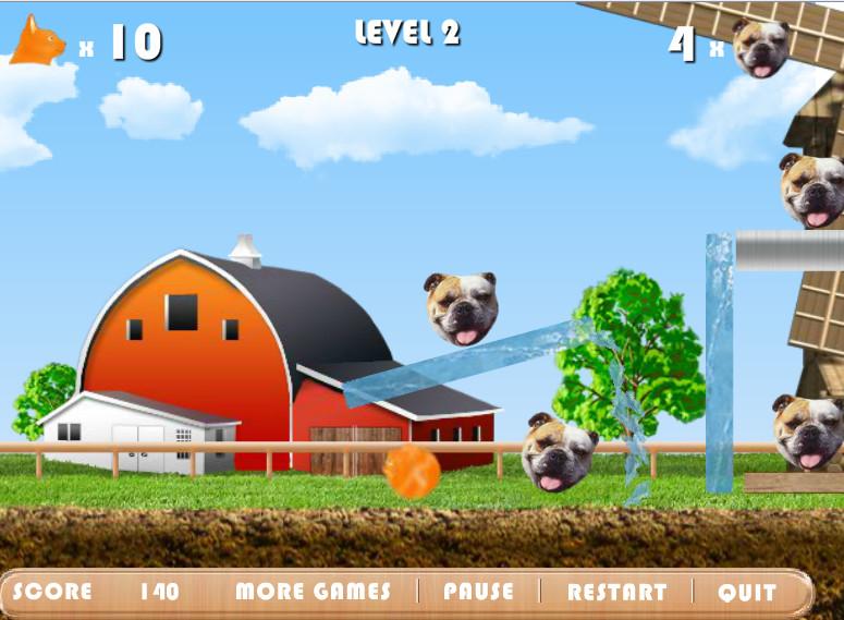Картинка к игре Коты против собак
