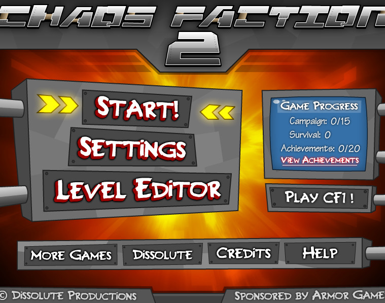 Игра Chaos faction 2
