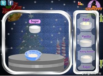 Картинка к игре Рождественское печенье