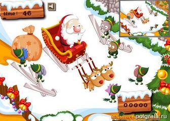 Картинка к игре Новогодний пит стоп