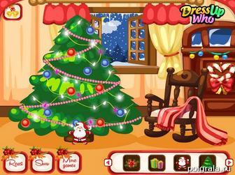 Картинка к игре Наряжаем Новогоднюю елку