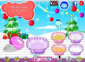 Картинка к игре Рождественские кексы