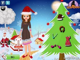 Картинка к игре Новогодний костюм
