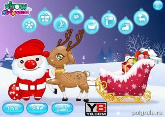 Картинка к игре Милый рождественский олень