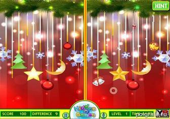 Картинка к игре Различия в новогоднем узоре
