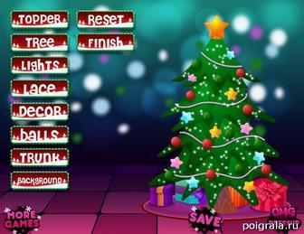Картинка к игре Дизайн новогодней елки