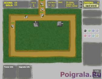 Картинка к игре Круговая оборона башенок