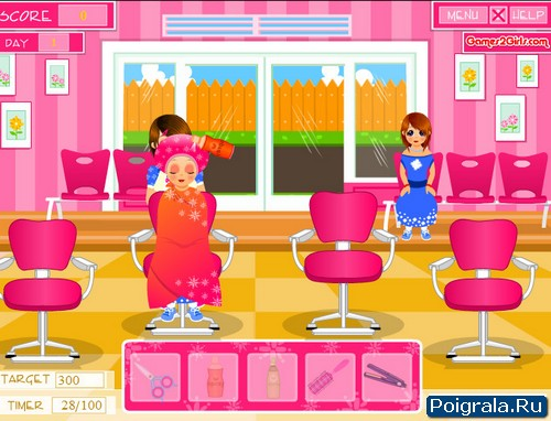Картинка к игре Салон парикмахерская