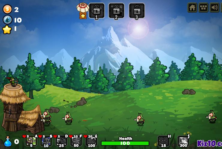 Картинка к игре Столкновение гоблинов
