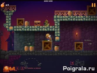 Картинка к игре Приключения в замке