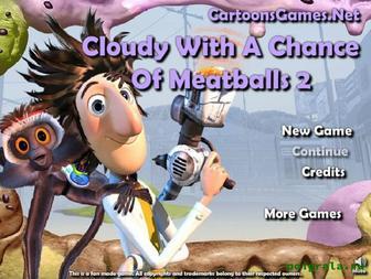 Игра Облачно 2, возможны осадки в виде фрикаделек