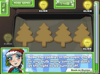 Картинка к игре Печенье для санты