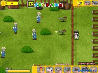 Картинка к игре Коровы против зомби