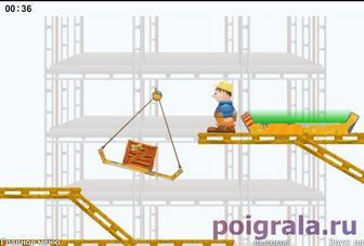 Картинка к игре Подьемный кран для мальчиков