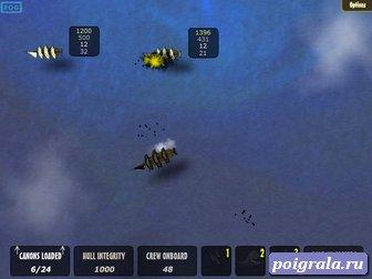 Картинка к игре Сражение на кораблях
