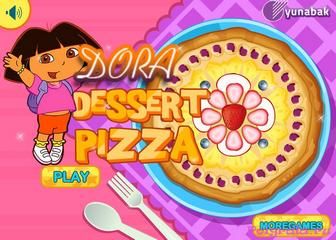 Игра Даша готовит пиццу