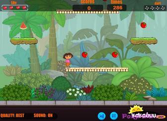Картинка к игре Приключение Даши путешественницы и башмачка