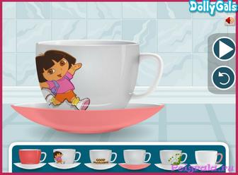Картинка к игре Даша дизайн чашки кофе