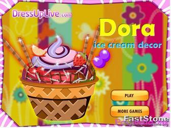 Даша делает мороженое картинка 1