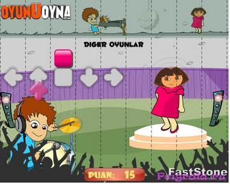 Картинка к игре Даша танцует под музыку