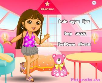 Игра Оденьте девочку