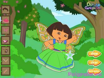 Картинка к игре Даша фея одевалка