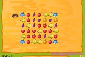 Картинка к игре Даша следопыт волшебный сад