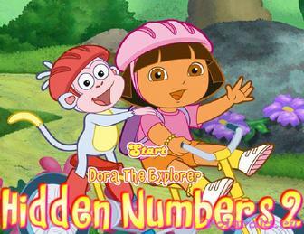 Игра Даша и башмачок скрытые цифры