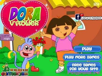 Игра Игра для девочек Даша и цветы
